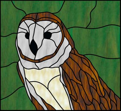 Go Back > Gallery For > Stained Glass Patterns Owl